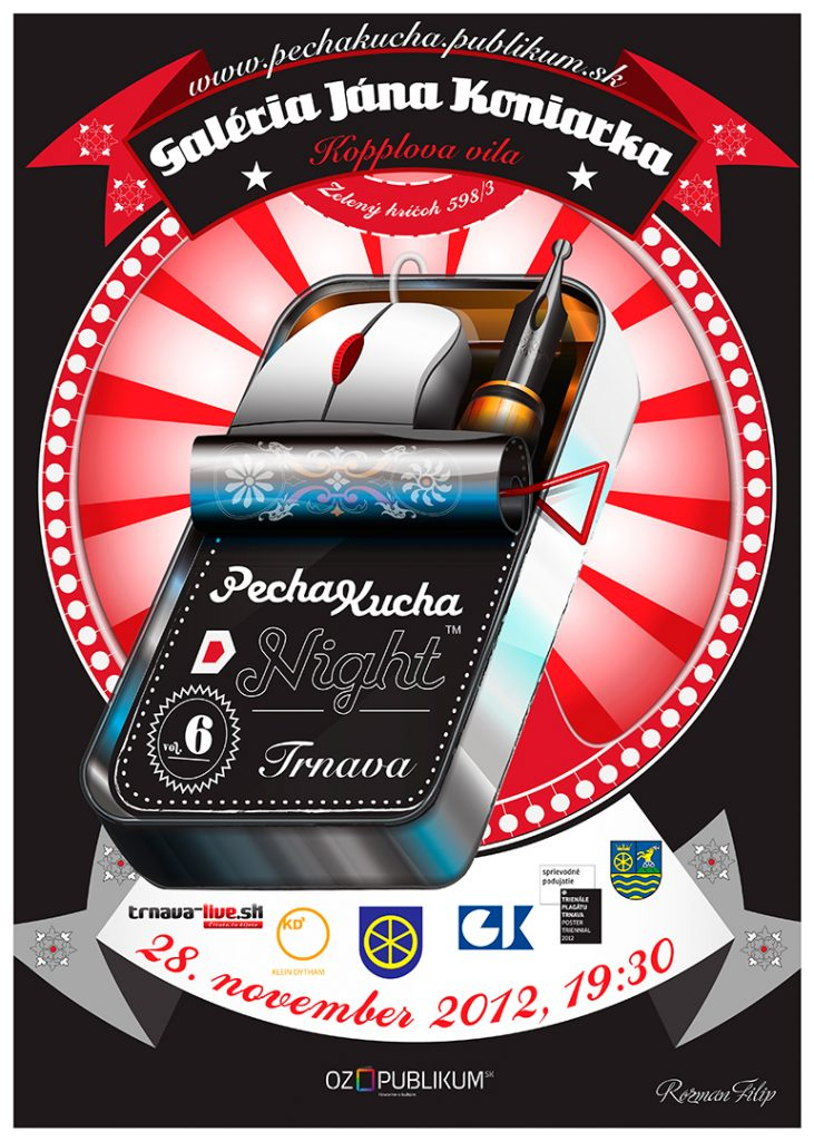PechaKucha Night Trnava vol. 06, autor: Filip Rozman