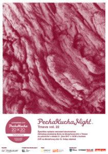 PechaKucha Night Trnava vol. 22 (autorka plagátu: Dominika Valentovičová)